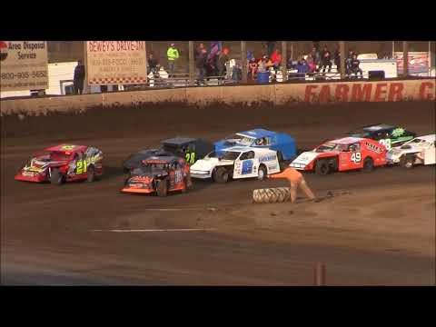Modified B Mains from 2017 Illini 100 Weekend From Farmer City Raceway