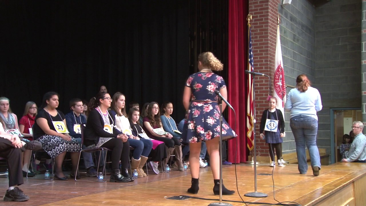 CVES Regional Spelling Bee  3-3-17
