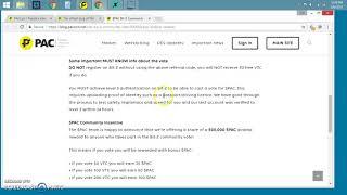 $PAC Next Step New Listing Bit-Z $25 Voting Incentive