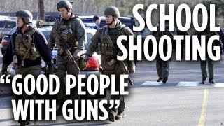 Good People with Guns: Newtown School Shooting Response