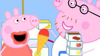 Peppa Pig Official Channel   Peppa Pig and Daddy Pig's Ice Cream Truck