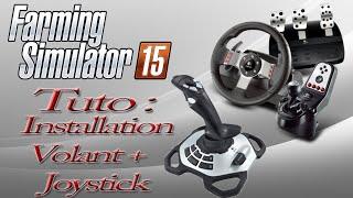 TUTO comment mettre un Joystick + volant sur Farming Simulator