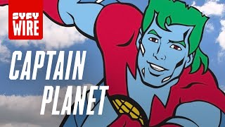 Captain Planet - Everything You Didn't Know | SYFY WIRE