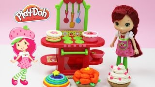 ✿ Strawberry Shortcake Berry Bitty City Cafe Bakery Delicious Cupcakes ✿ Snow Flower Rainbow