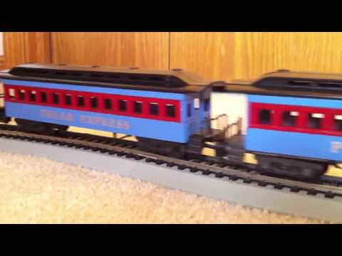 Model Railway Toy Train Scenery -Amazing Custom HO Polar Express Christmas Train
