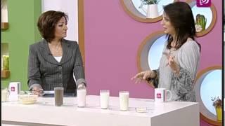 ربى مشربش تتحدث عن الحليب انواعه وفوائده | Roya