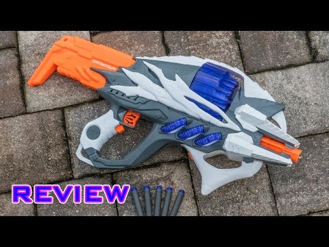 [REVIEW] Nerf Alien Menace Incisor Unboxing, Review, & Firing Test