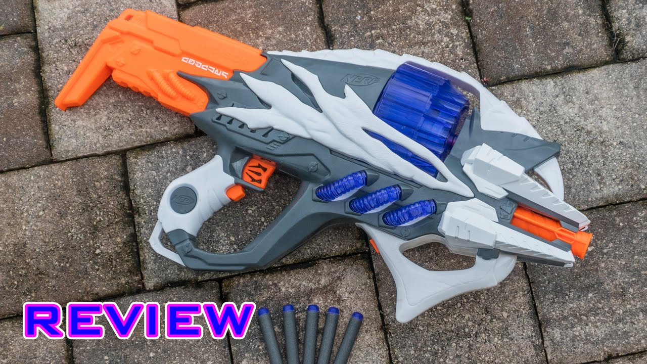 [REVIEW] Nerf Alien Menace Incisor Unboxing Review & Firing Test