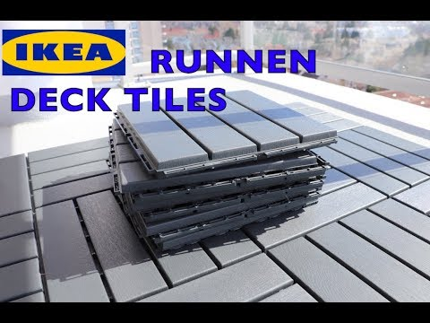 Ikea Runnen Deck Flooring Patio Tiles