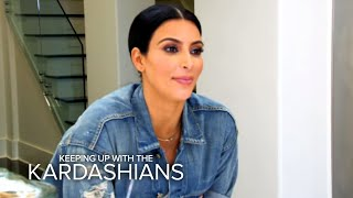 KUWTK | Kim K. Calls Khloe Out for
