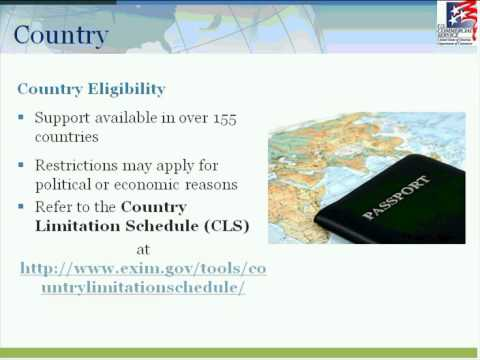 "Ex-Im Bank Webinar Series (2 of 3): Extend Credit and Get Paid for Your Exports"" Webinar"