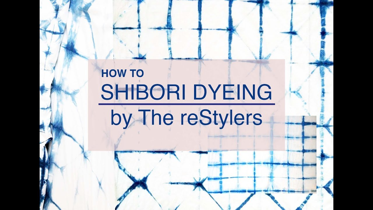 DIY Shibori Dyeing Technique - How To