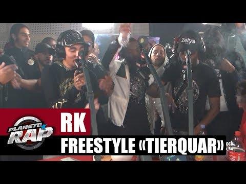 "RK - Freestyle ""Tierquar"" avec Black Jack, Donki, UZI, DRK & Sterfa #PlanèteRap"