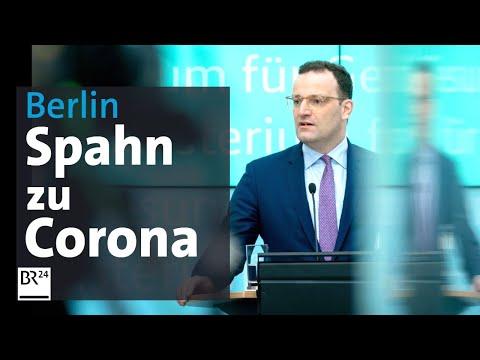 Coronavirus: Jens Spahn Und Lothar Heinz Wieler Vom RKI Informieren Zur Lage | BR24