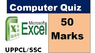 Computer Quiz 50 Marks For UPPCL Bank Ssc