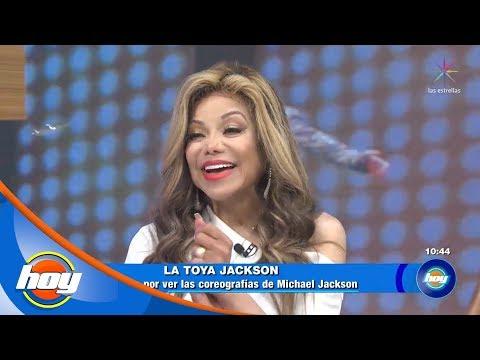 ¡La Toya Jackson por primera vez en HOY!