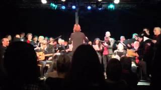 Бельгийский хор в память о второй мировой войне!!