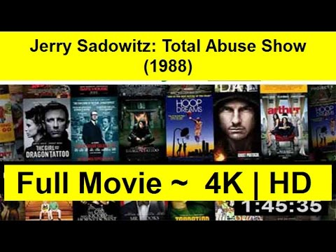 Jerry Sadowitz: Total Abuse Show Full Length 1988