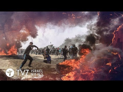 Tension continues to rise on Israel's frontier with the Gaza Strip - TV7 Israel News 02.10.18