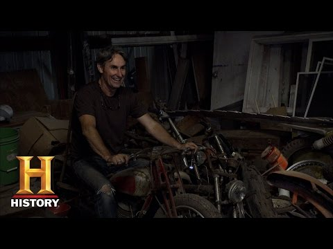 American Pickers: A Deal on a Harley Hummer   History