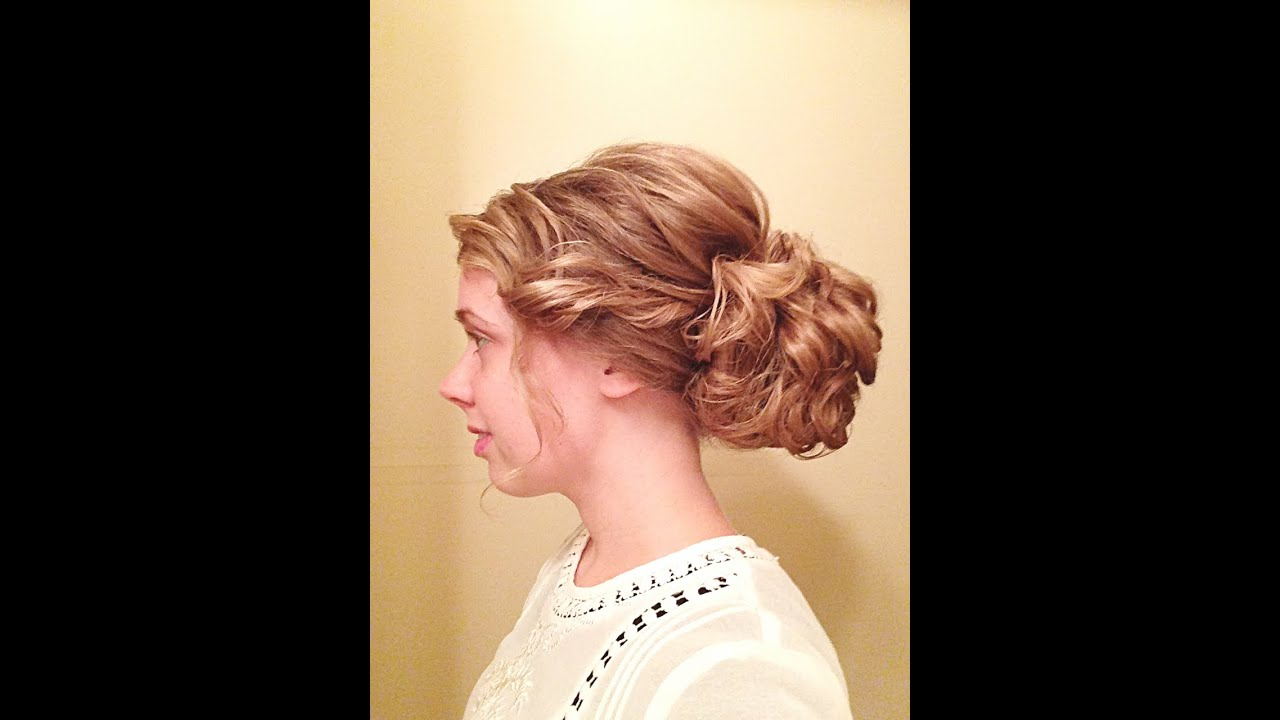 Hair Style Videos Youtube: Elegant Pentecostal Updo