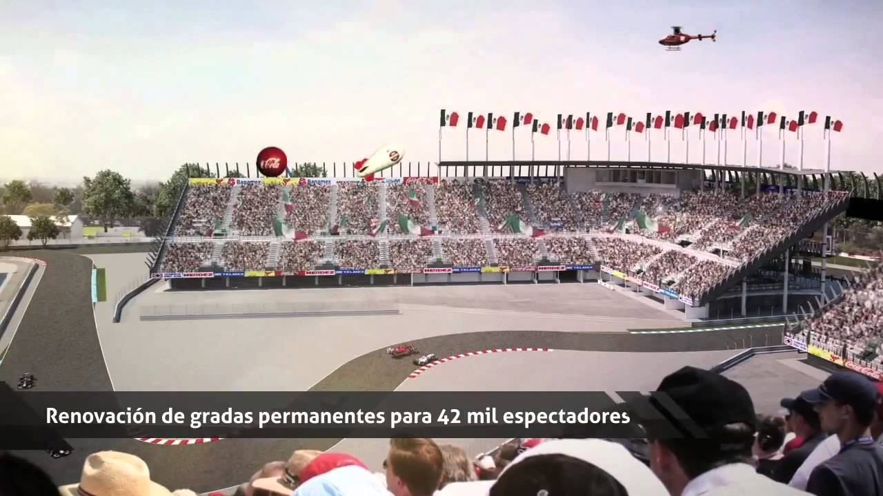 F1 gp mexico city 2015 new circuit aut dromo hermanos for Puerta 5 autodromo hermanos rodriguez
