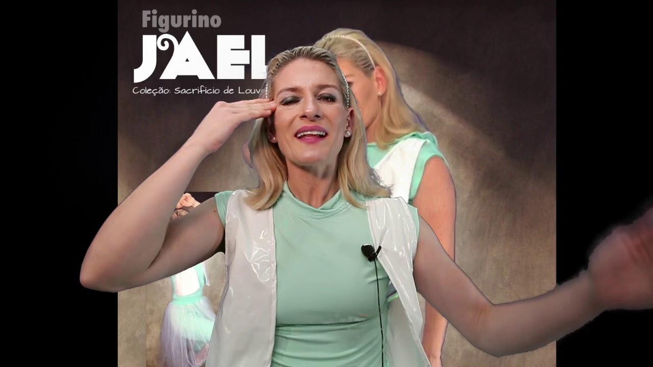 1950cdb446 Figurino JAEL I CENTRAL FIGURINO BRASIL I Pastora Carol Bassi - YouTube