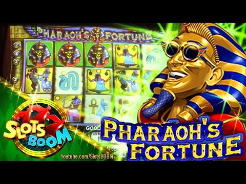 PHARAOH'S FORTUNE LIVE BONUSES 5c IGT Video Slot - 동영상