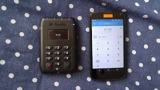 Paypal Card Reader Demonstration
