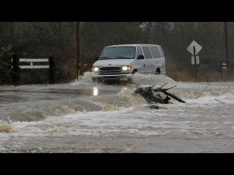 Heavy rain causes major flooding in California, Nevada