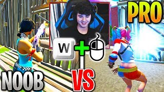 How Bugha Plays in NOOB vs PRO Lobbies! (Fortnite)
