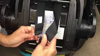 How to Adjust  Doona Carseat Harness Straps