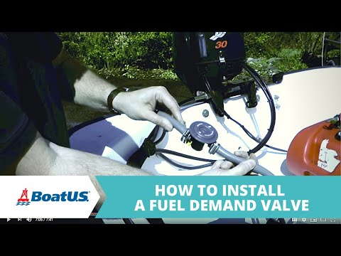 How To Install A Fuel Demand Valve For Your Outboard