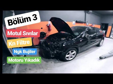 Astra GTC - Bölüm 3 - Motor Yıkama - MOTUL Sıvı Seçimleri - KN Filtre Geldi - NGK Buji Değişimi
