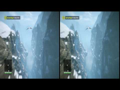 Flying in Himalaya  , for VR headset , far cry 4