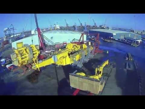 IHC 300t flexlay tower assembly