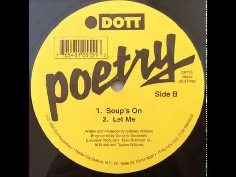 Poetry ~ Let Me ~ Dott Records 1994 NYC