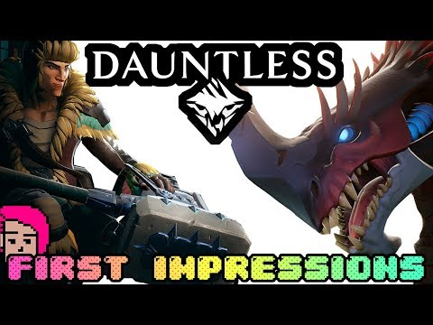 "🦄 ""Dauntless"" First Impression Review 