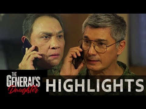 Marcial pleads to Greg for everyone's safety | The General's Daughter