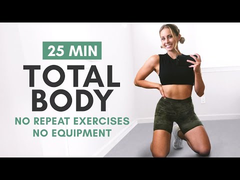 25 MIN FULL BODYWEIGHT WORKOUT To Blast Fat And Tighten Up