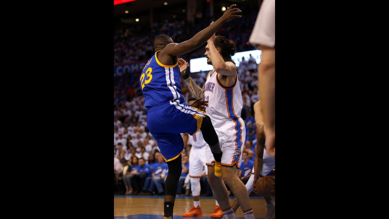 Draymond Green addresses controversial kick to Steven ...