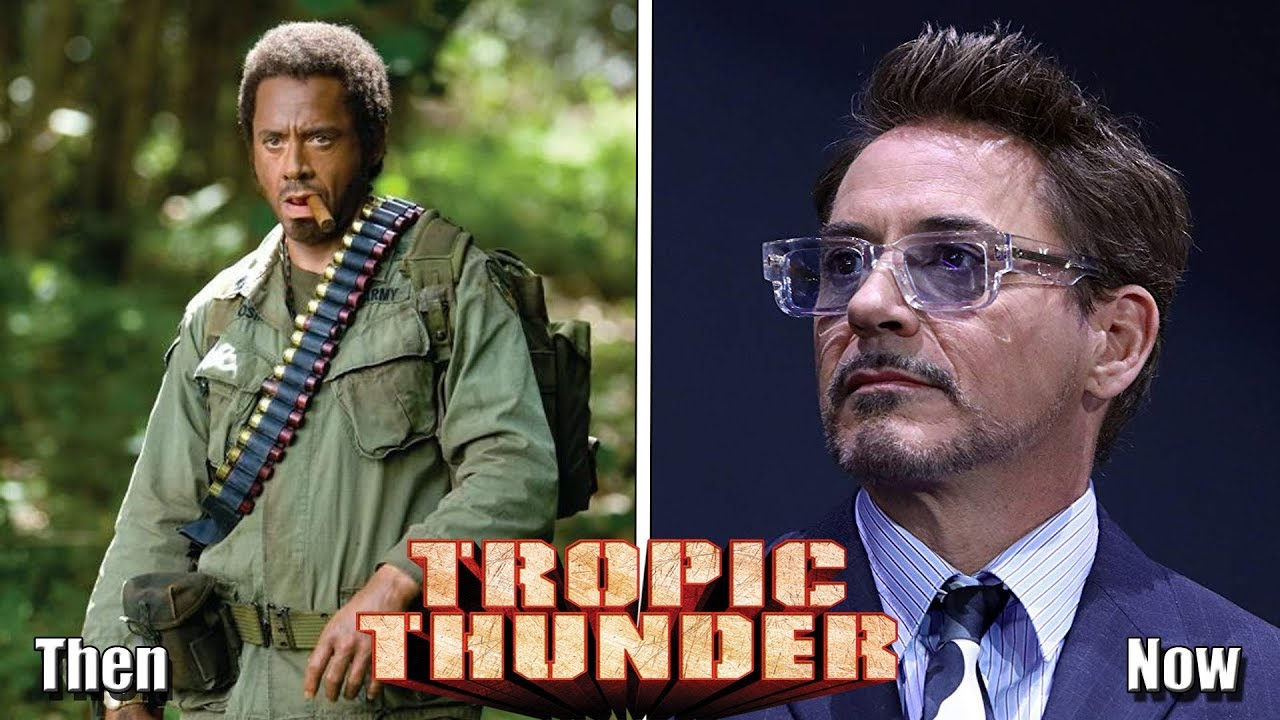 Tropic Thunder 2008 Cast Then And Now 2019 Before And After Youtube