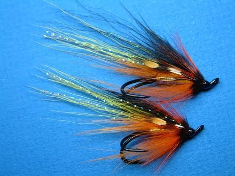 Tying an Atlantic Salmon Fly by Davie McPhail. - YouTube