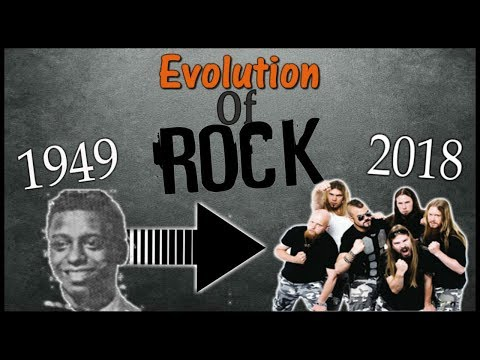 Evolution of Rock  1949 to 2018