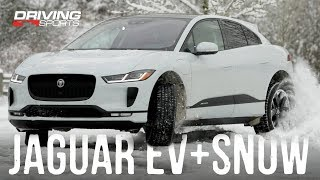 2019 Jaguar I-PACE EV400 vs Snow and Ice - Full Review #drivingsportstv