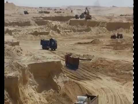 Suez Canal new: a scene in the dig September 26, 2014