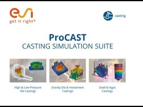 ESI ProCAST 2018 Free Download