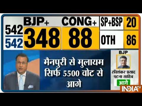 Lok Sabha Election Results 2019 LIVE | Mulayam Singh Yadav Leads By 5500 In Mainpuri
