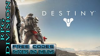 Destiny - Free Shader, Emblem and Grimoire Codes