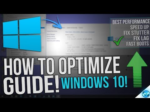 🔧 How To Optimize Windows 10 For GAMING & Performance The Ultimate GUIDE